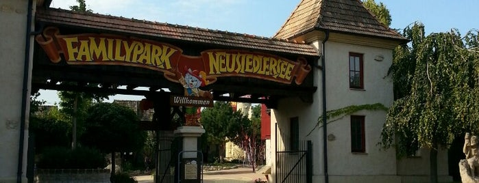 Familypark Neusiedlersee is one of Top 10 places to try this season.