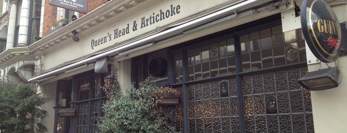 The Queen's Head & Artichoke is one of BMAG's Pubs.