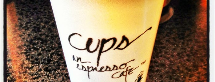 Cups, an Espresso Café is one of Great Coffee.