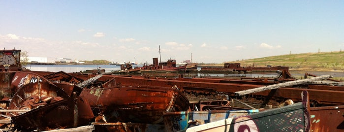 Staten Island Tugboat Graveyard is one of Secrets of NYC.