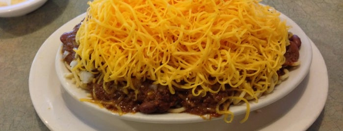 Skyline Chili is one of Places to try.