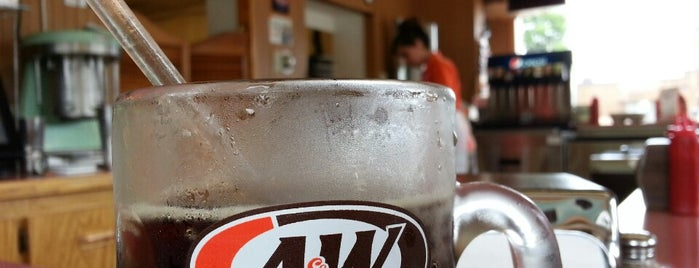 A & W All American Food Drive-In is one of Favorite Restaurants.