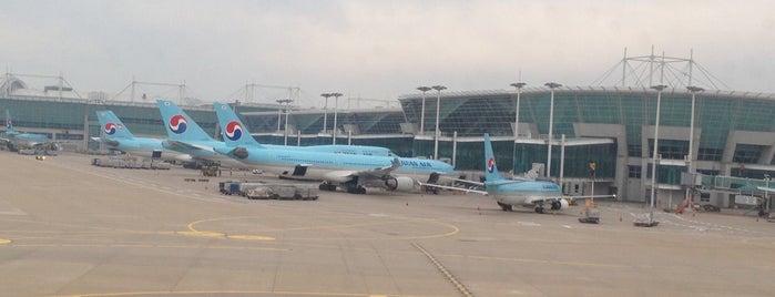 인천국제공항 (Incheon International Airport - ICN) is one of Michel's tips.