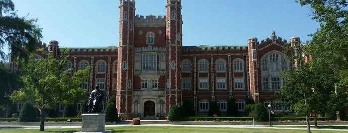 North Oval is one of University of Oklahoma.
