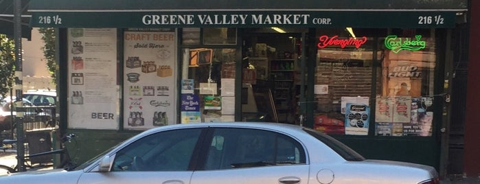 Greene Valley Market is one of Clinton Hill.