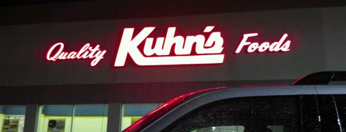 Kuhn's Market is one of Best Places to buy Bacon in Pittsburgh.