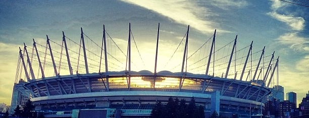 BC Place is one of Vancouver Events.