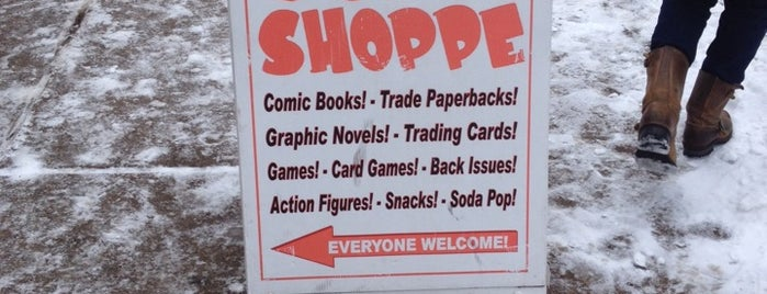 Uncle Sven's Comic Shoppe is one of asdf.