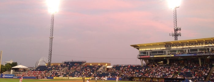 Richmond County Bank Ballpark is one of NYC Sporting Venues.
