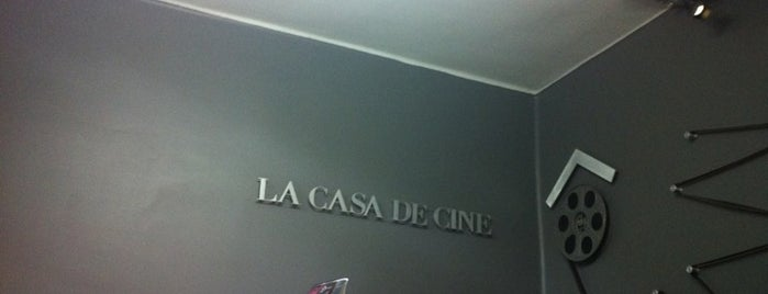 La Casa De Cine is one of Lugares Imposible Pasarla Mal (aunque insistas).