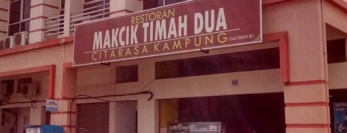 Restoran Mak Timah 2 is one of Makan @ Pahang #1.
