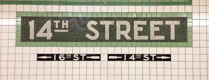 MTA Subway - 14th St (F/L/M) is one of MTA Subway - F Line.