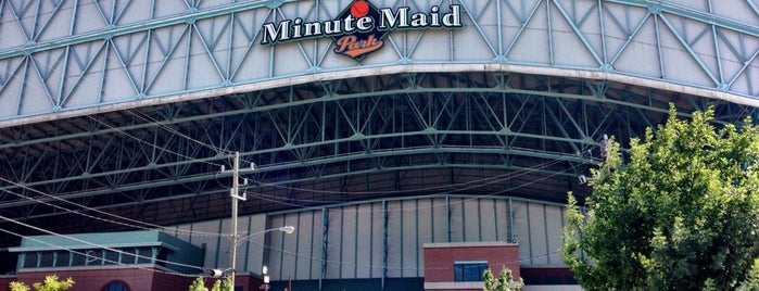 Minute Maid Park is one of MLB Stadiums.