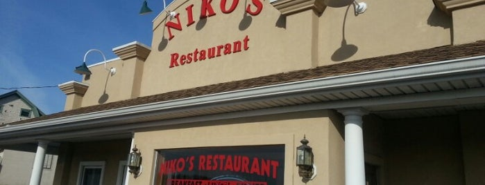 Nikos' Restaurant is one of Kent County Spots.