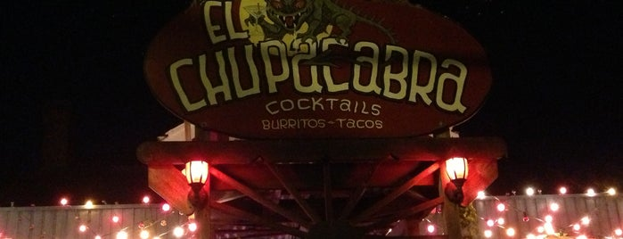 El Chupacabra is one of Happy Hour in Seattle.