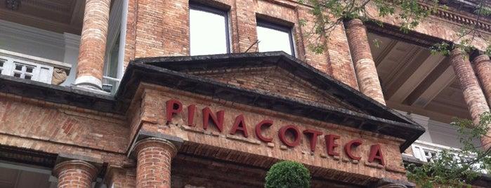Pinacoteca do Estado de São Paulo is one of em Sampa.