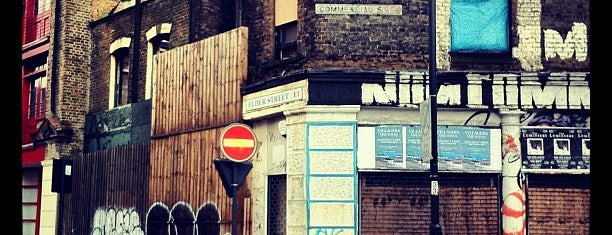 Brick Lane is one of London City Badge - London Calling.