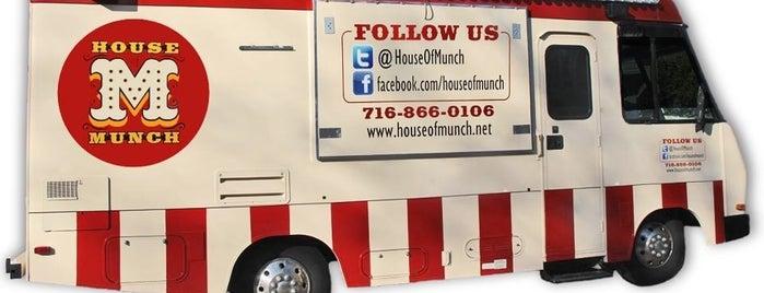 House of Munch is one of Buffalo, NY Food Trucks.