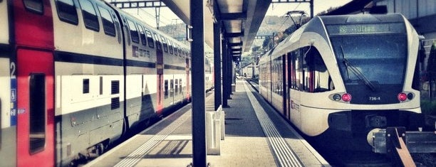 Bahnhof Sissach is one of Bahnhöfe Top 200 Schweiz.