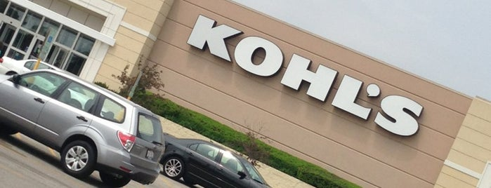 Kohl's is one of Top picks for Department Stores.