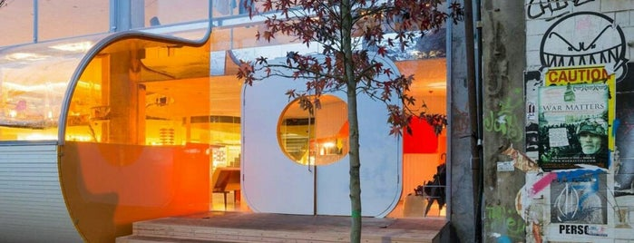 Second Home is one of Silicon Roundabout / Tech City London (Open List).