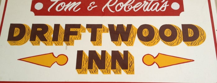 Driftwood Inn is one of Cracken's Matchbook Collection.