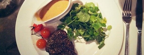 Green Door Steakhouse is one of Steak in London.