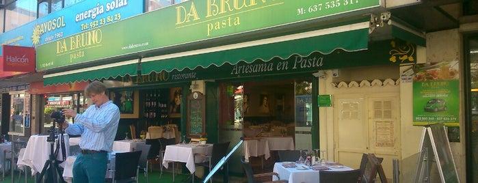 Da Bruno Pasta is one of Cheque gourmet Malaga.