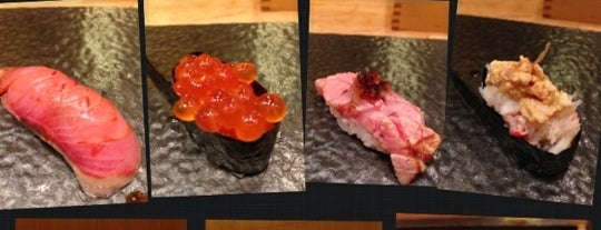 Sushi Sase is one of wanna try next.