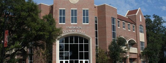 UF Alumni Association (Emerson Alumni Hall) is one of University of Florida Explorer badge.