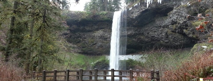 Silver Falls State Park is one of Places I wanna go.