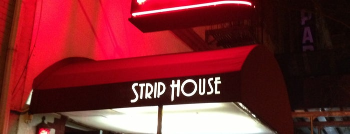 Strip House is one of Dixon's favorite NYC restaurants.