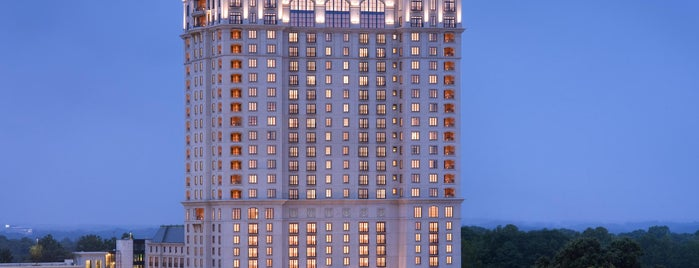 The St. Regis Atlanta is one of T+ L 500: The Debut Hotels of 2013.