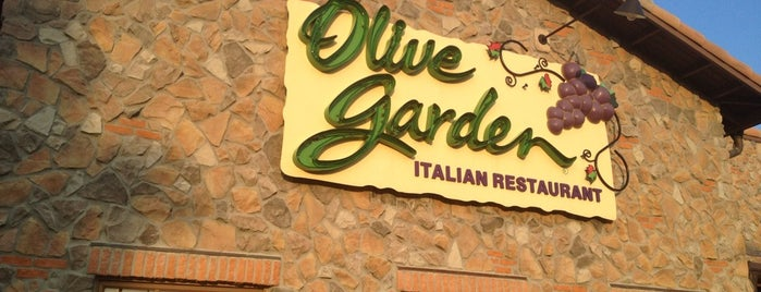 Olive Garden is one of Top picks for Italian Restaurants.