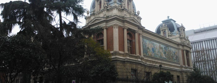 Escuela Técnica Superior de Ingenieros de Minas de Madrid (ETSIMINAS - UPM) is one of museos por visitar.