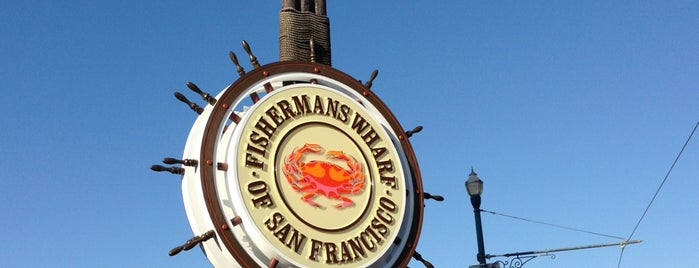 Fisherman's Wharf is one of San FrN.