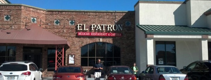 El Patron is one of Lunch Run!!!.