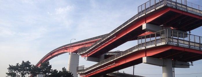 中の島大橋 is one of 行った所&行きたい所&行く所.