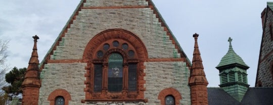 Willard Memorial Chapel is one of Sacred Sites in Upstate NY.
