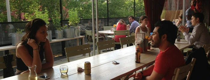 Blue Ribbon Beer Garden is one of Manhattan Essentials.