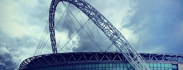 Wembley Stadium is one of UK & Ireland Pro Rugby Grounds.