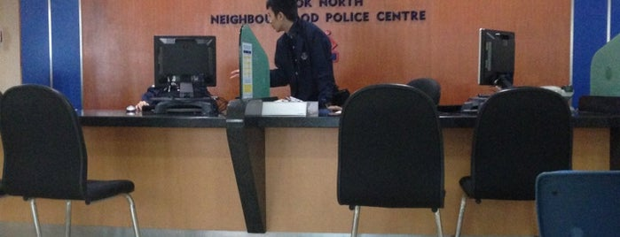 Bedok Police Division HQ / Bedok North Neighbourhood Police Centre is one of Singapore Police Force.