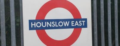 Hounslow East London Underground Station is one of Tube Challenge.