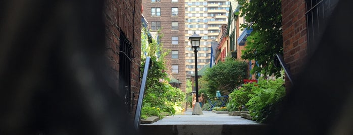 Pomander Walk is one of Secrets of NYC.