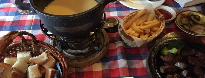 Alt Swiss Schallet is one of Itaewon food.
