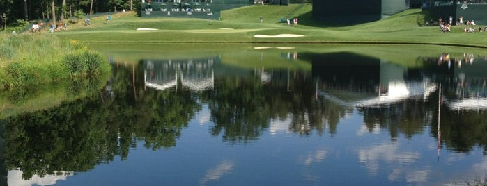 Congressional Country Club is one of the ususal.