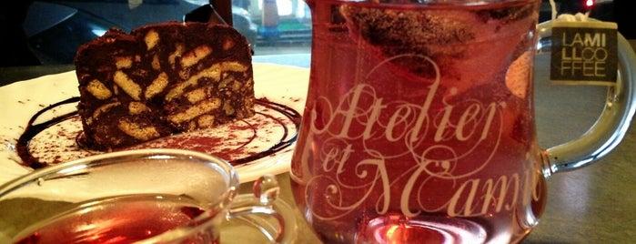 아뜰리에 에 마미 (Atelier et M'amie) is one of Coffee&desserts.