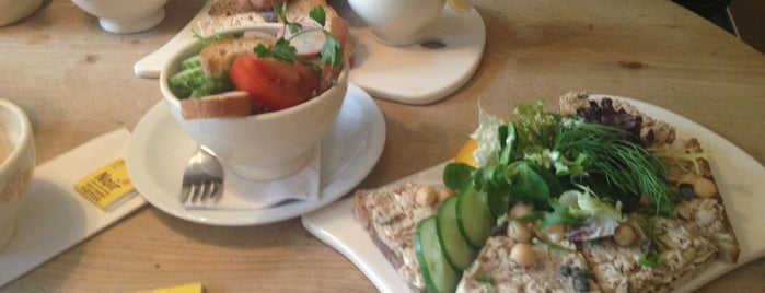 Le Pain Quotidien - (de Pijp) is one of Restaurant Lunch.