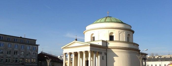 Plac Trzech Krzyży is one of Free hotspot WiFi Warszawa.