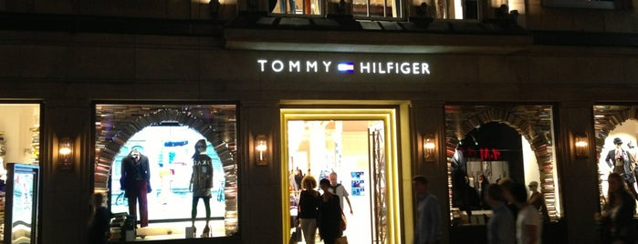 TOMMY HILFIGER is one of Shop until you drop.